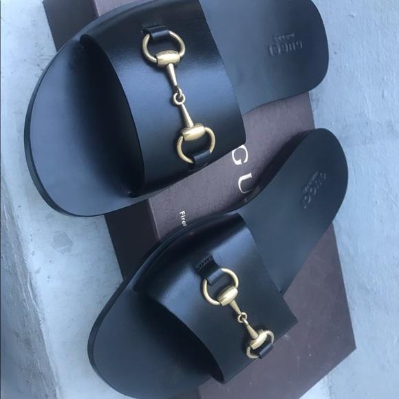 f49cd3f4cb1d1 Gucci Other - Gucci men black sandals